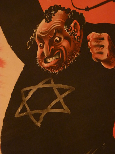 Anti-Semitic Poster (2)Detail with a star of David | by zeevveez