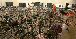 NAHBS valet bike parking | by Richard Masoner / Cyclelicious