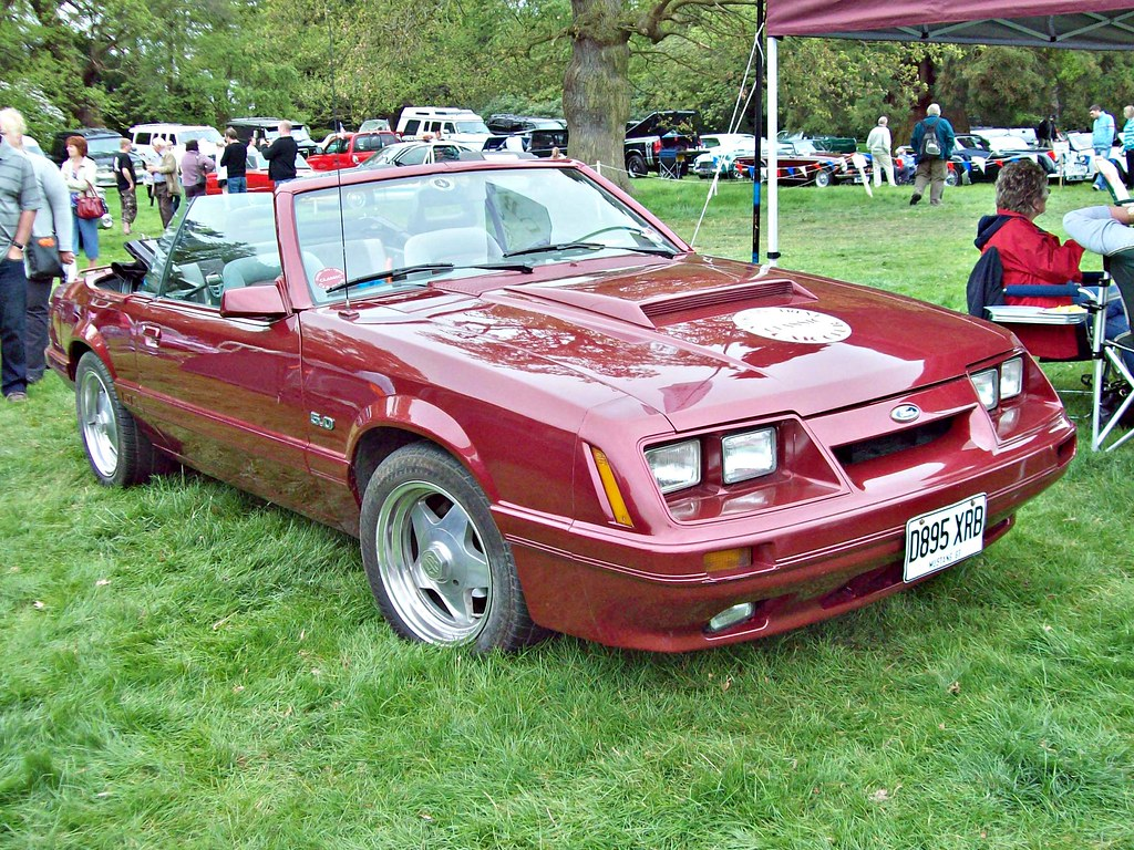 123 Ford Mustang Gt Convertible 1986 Con Flickr By Robertknight16