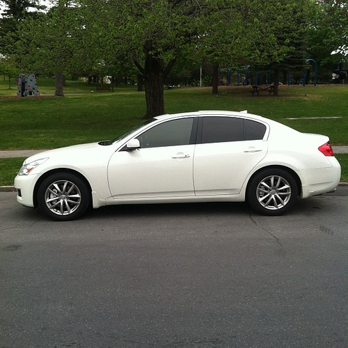 Infiniti g37 window tint 5 rear windows 15 front two for 15 window tint pictures