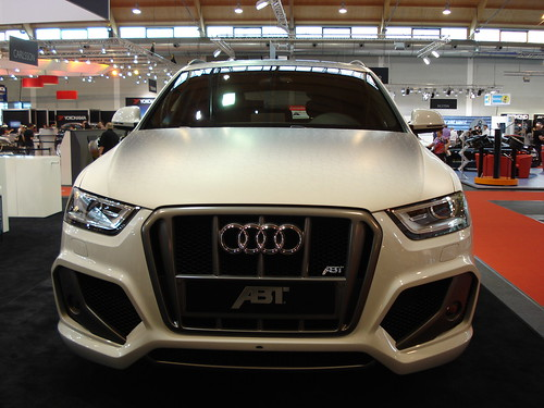 abt audi q3 qs3 1 gesehen am auf der tuning. Black Bedroom Furniture Sets. Home Design Ideas