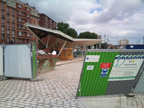 Fail de la ratp qui a confondu la nouvelle gare routi re d - Gare routiere paris gallieni porte bagnolet ...