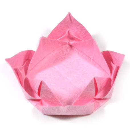 How To Make An Easy Origami Lotus Flower This Easy Origami Flickr