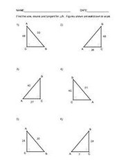 Worksheet Trigonometry Worksheet trigonometry worksheets a flickr by meghaa2012