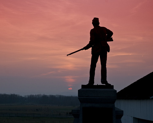 111th NY at Dusk - Gettysburg | by ronzzo1