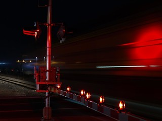 2012-120-366 .. Industrial Road and a northbound Ethanol Train | by Electroburger