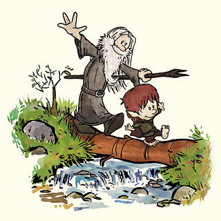 Bilbo and Gandalf | by CoolJohnny