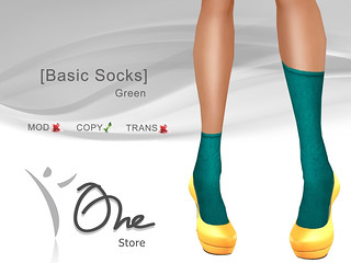 [Basic Socks] | by Julyanne Sands :: One Store ::