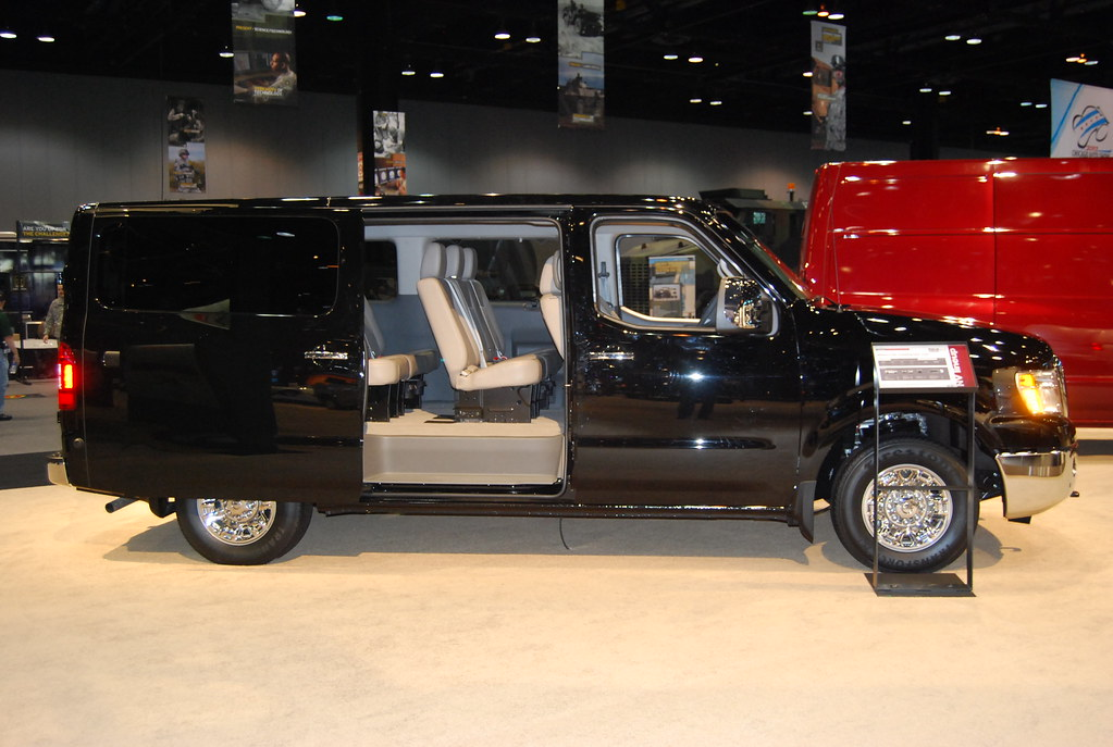 Perfect ... Nissan NV3500 Full Size Passenger Van | By Artistmac