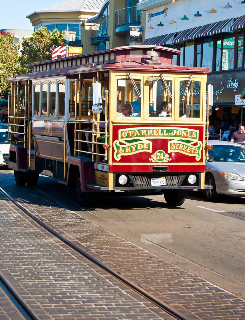 USA / California / San-Francisco / Tourist Bus