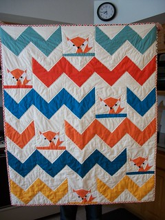 Quilt for Finneas Foxe | by vardewoman