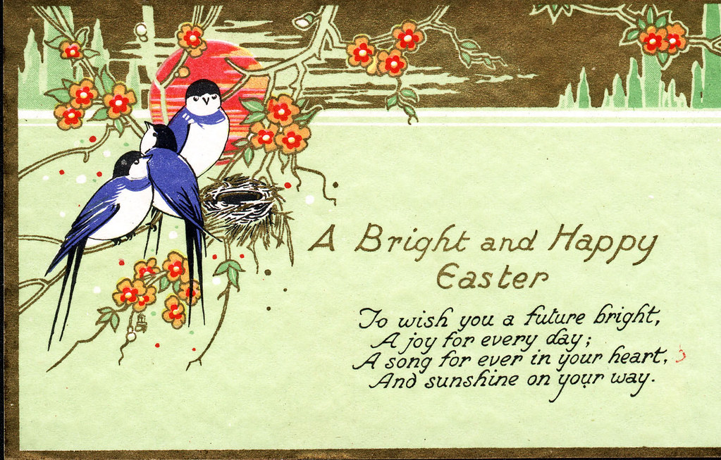 A bright and happy easter traditional easter card flickr bright and happy easter traditional easter card by beamish museum m4hsunfo