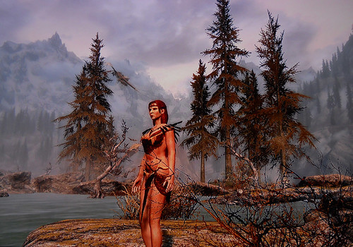 how to make a pretty female character skyrim