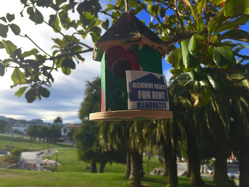 Birdhouse for rent in Dolores Park