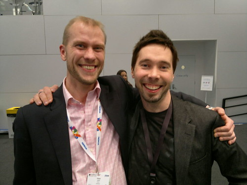 Vesa and Juha, very happy. Big Congrats on the Nokia PureView 808 winning best of show at #MWC12! | by Ms. Jen