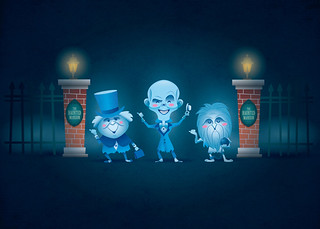 Haunted Mansion Ghosts | by Jerrod Maruyama