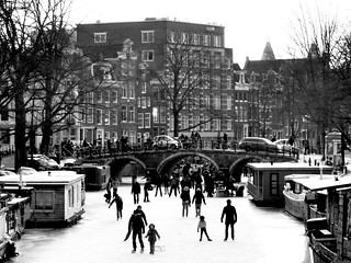 Amsterdam Winter Wonderland - Happy People | by AmsterSam - The Wicked Reflectah