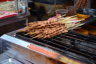 Grilled lamb kebabs | by JLim02