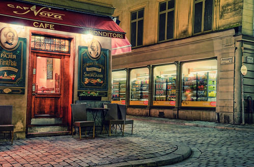 Old Town by Night VII | by henriksundholm.com