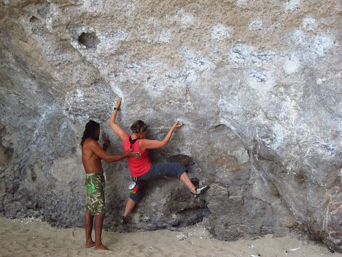 Claudia and Wee Bouldering | by fabulousfabs