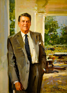 Ronald Reagan Portrait by Everett Raymond Kinstler, 1991 at the National Portrait Gallery Washington DC | by mbell1975