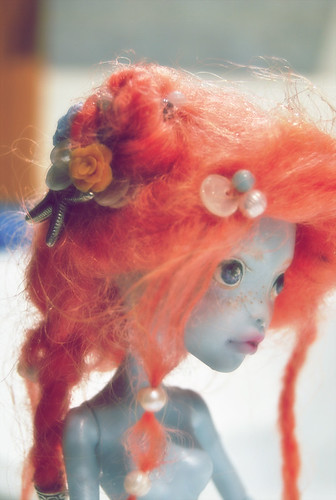 Monster High Lagoona Blue repaint | by ♥ Jin