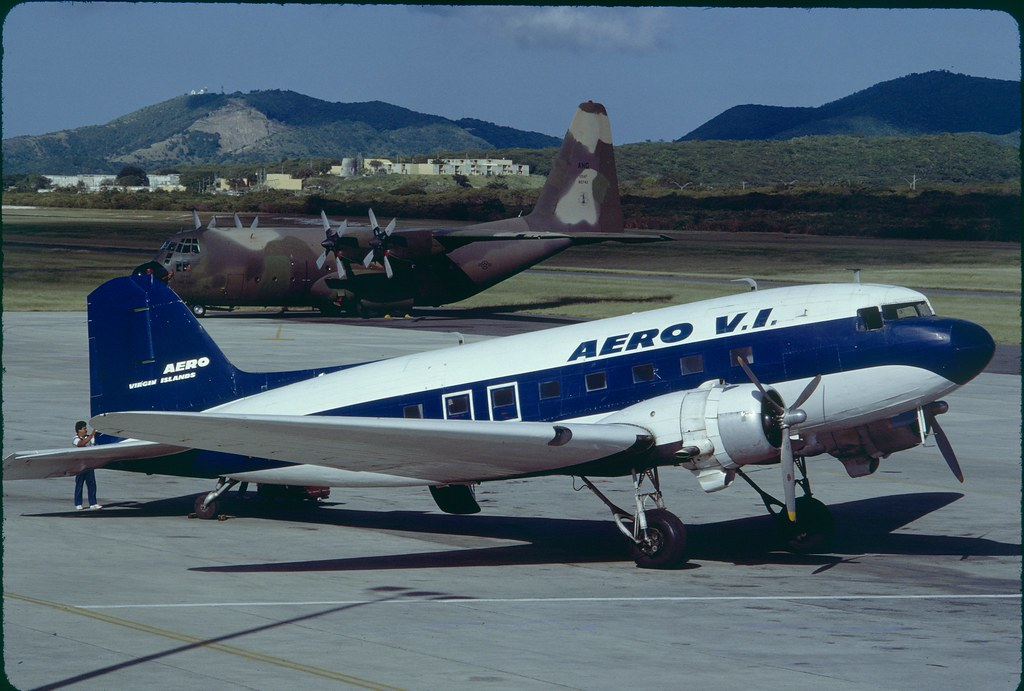 DC3 Aero Virgin Island