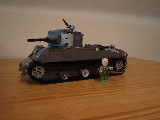 Sherman M4A3 V4 (main) | by Kaelas Munger