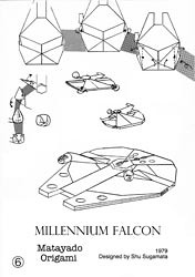 Millennium Falcon origami diagram coming next. | Wait a ... - photo#14