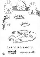 Millennium Falcon origami diagram coming next. | Wait a ... - photo#25
