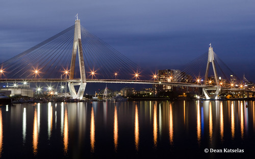 Anzac Bridge | by dkatselas