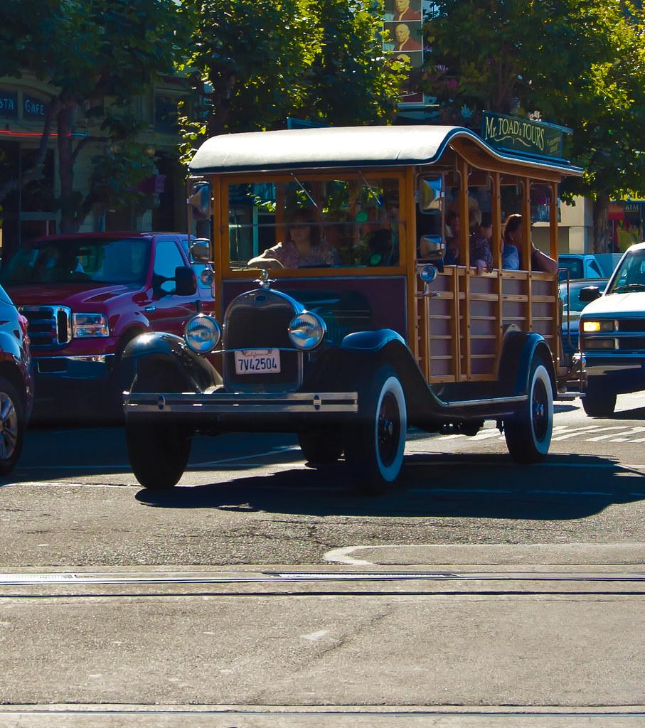 USA / California / San-Francisco / Tourist Car