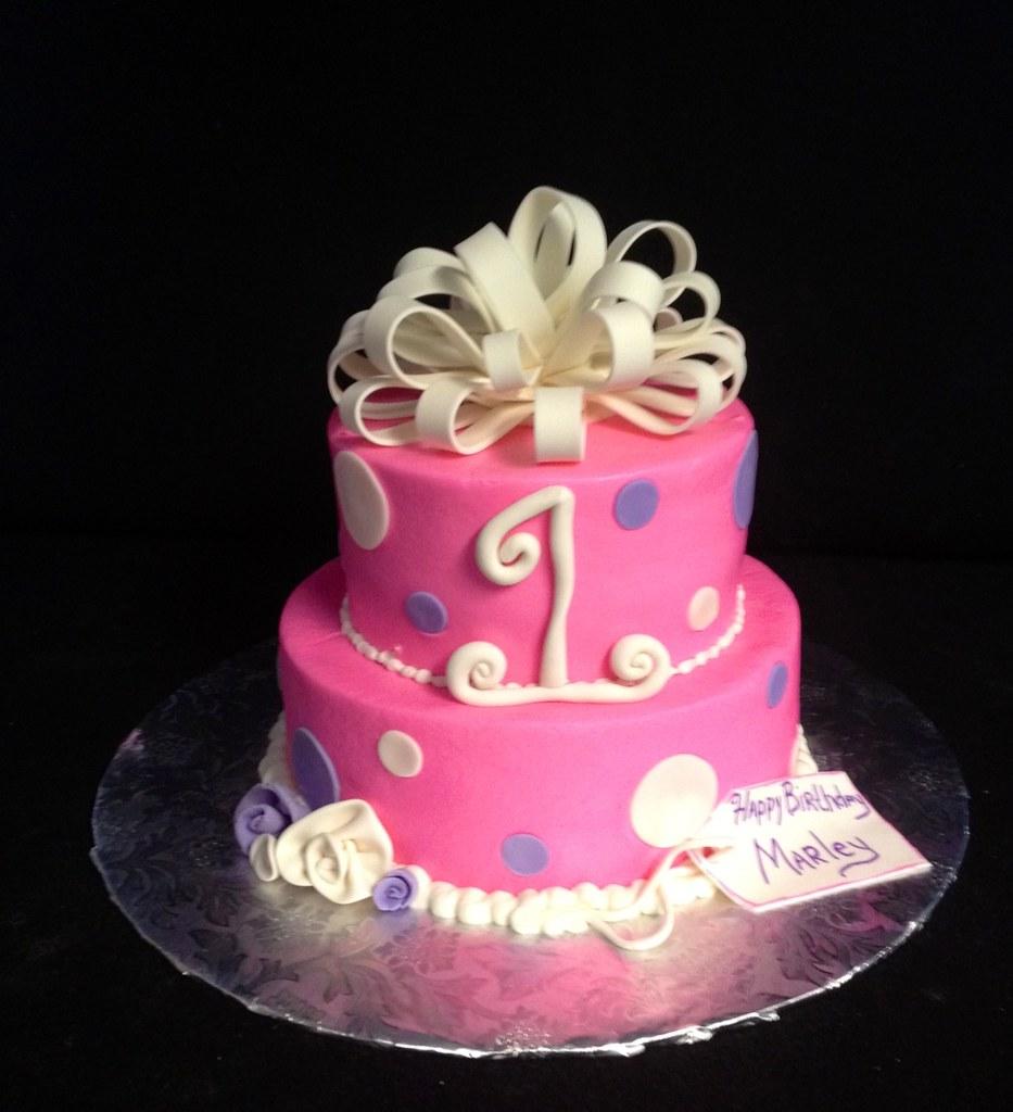 Happy 1st Birthday Cake Christie Flickr