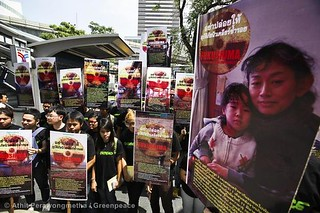 Fukushima Day Of Action, Thailand | by Greenpeace UK