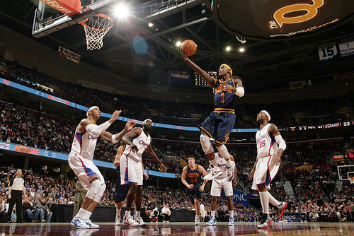 Gibson Layup | by Cavs History