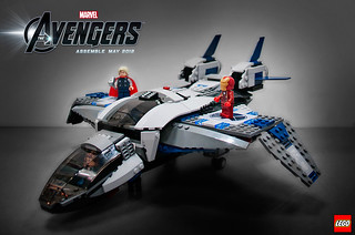 6869 Quinjet Aerial Battle 1 | by fbtb