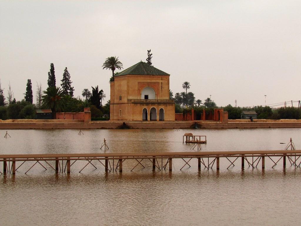 Menara Garden Pavillion. | Morocco. Marrakech. The Menara ga… | Flickr