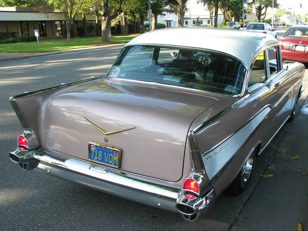1957 Chevrolet 2 Door Sedan Custom 718 Vom Photograhpe Flickr Two By Jack Snell