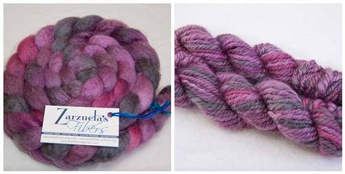 Zarzuela's Fibers BFL/Silk - January Haze | by mslindz