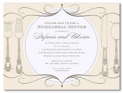 Truly Weddings Rehearsal Dinner Invitation The night befor Flickr
