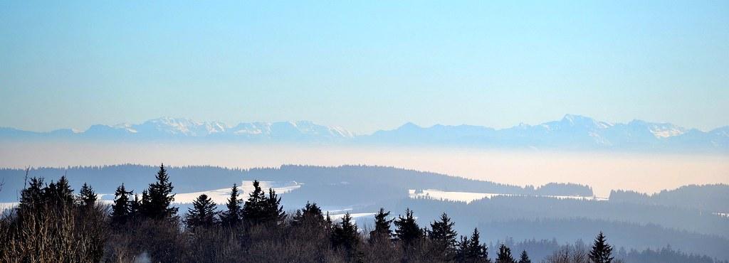 Alps from Svatý Tomáš