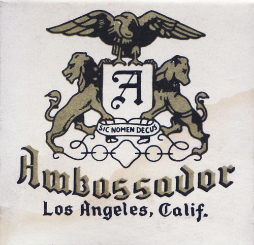 Ambassador hotel los angeles schine hotels finest under for Cat hotels los angeles
