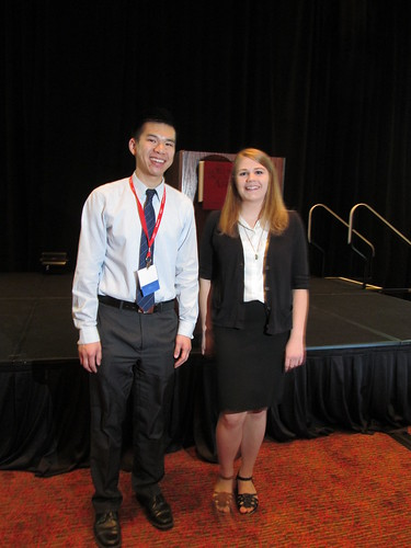 Richard Hong and Claire Jenson | by The Forum on Education Abroad