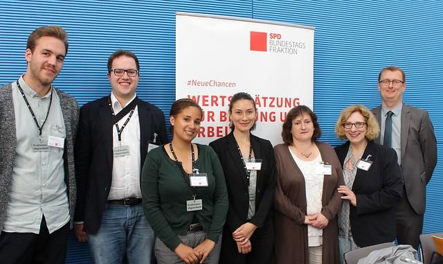 """Dialogforum """"Wertschätzung für berufliche Bildung"""" der Projektgruppe #NeueChancen am 01.06.2016"""
