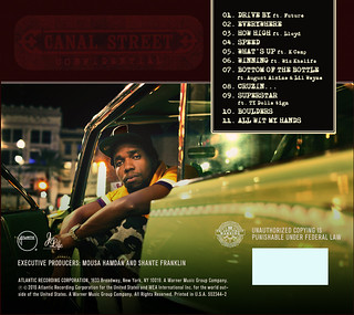 Curren$y - Canal Street Confidential (Back) | by fortyfps