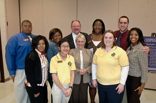ChancellorInstall-StudentLunch_33 | by UT-Chattanooga