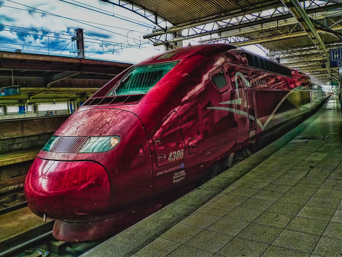 TGV Thalys ~ Brussels-South railway station | by SergeK 