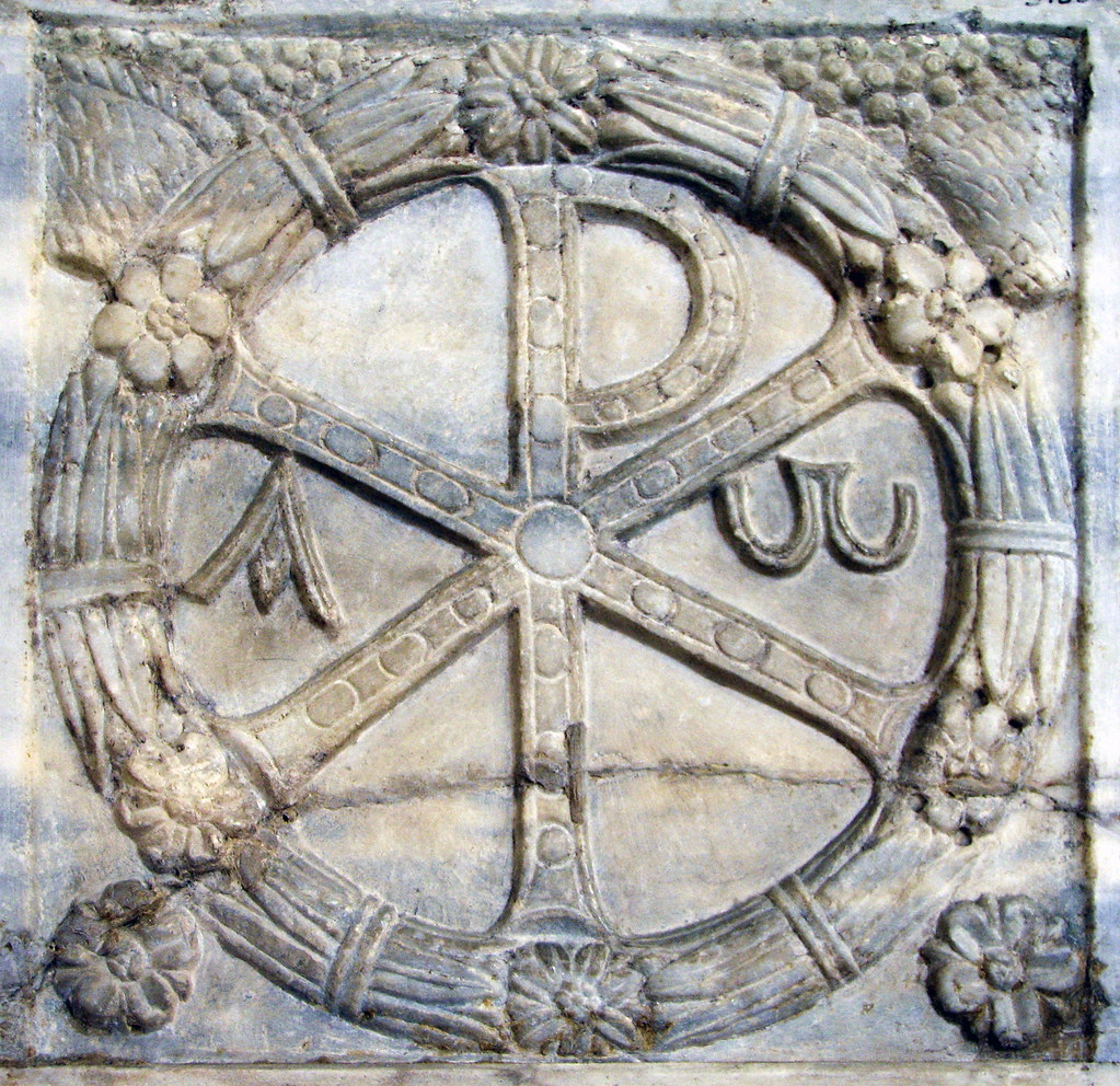 Chi Rho The Chi Rho Is One Of The Earliest Cruciform Symbo Flickr