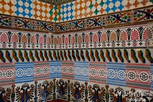 Mosaico de azulejos 2012 juana m mart n all rights res flickr - Azulejos martin ...
