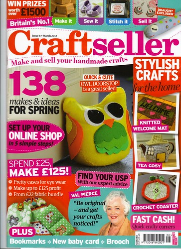Craftseller March 2012. | by MRS TWINS/SIBOL 'Sunshine International Blankets